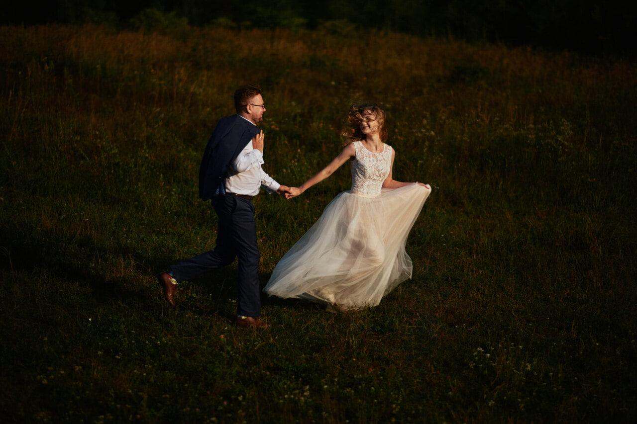 Plener ślubny w Parku Gródek w Jaworznie